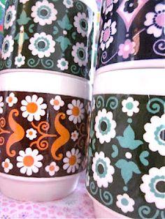 Pomme de Jour - Vintage Floral Mugs