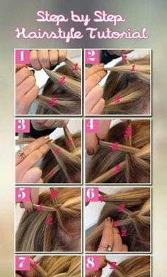 Step by step # duch Braids step by step Braids Step By Step, Step By Step Hairstyles, Braided Hairstyles Tutorials, Diy Hairstyles, Hairstyle Ideas, Dutch Pigtail Braids, French Braid Pigtails, French Braids, School Hairstyles