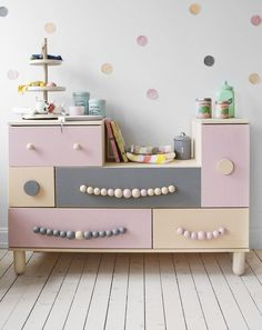 Fun decorations to add texture and color to your babes furniture and walls.