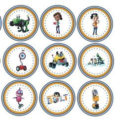 Items similar to Rusty Rivets Birthday Banner/Rusty Rivets Birthday Party/Rusty Rivets Party Decor/Rusty Rivets Cupcake Toppers on Etsy Dinosaur Birthday Party, 4th Birthday, Birthday Parties, Construction Party, Ideas Para Fiestas, Tom And Jerry, Cartoon Characters, Party Time, Birthdays