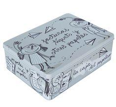 La caja Facturas, tíquets y otros papeles. Un regalo perfecto para chicos y chicas, diseño de la afamada española Anna Llenas. En Decocuit Regalos y decoración en Burgos encontrarás más modelos de estas cajas. Y si quieres comprar, lo puedes hacer a través de nuestra tienda on line www.decocuit.com. Te sorprenderemos!