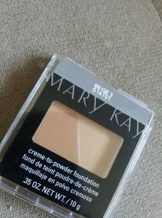 Mary Kay Creme-to-Powder foundation...LOVE IT #MKHolidayWishList I've always wanted to try this!
