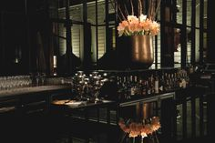 Luxury bar for the best aperitivo in Milan - Bulgari Hotel Resort