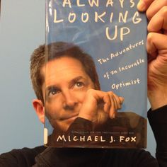 A special #bookfacefriday post featuring Michael J. Fox and his book, Always Looking Up: The Adventures of an Incurable Optimist, as we continue to celebrate #backtothefuture week! Visit the library tomorrow (10/24) at 1 PM to see a Delorean and meet Dave Delman who will talk about the car, its maker and the iconic movie.  #syossset #library #bttf #bookface #bookcovers #michaeljfox #deloran #librariesofinstagram #michaeljfox #backtothefutureweek #bttf2015 #davedelman #syossetbookface