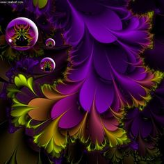 FRACTAL - these colours are soooo exciting together