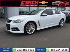 2015 Chevrolet Chevy SS Base $42,999 3663 miles 303-395-9830  #Chevrolet #SS #used #cars #EmichChevrolet #Denver #CO #tapcars