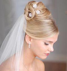Penteados de Noivas - Cabelo Preso - Primeira imagem