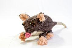 Australian Ringtail Possum by designer Alma Mahler. - via @Craftsy