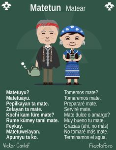 Lengua  Mapuche Educacion Intercultural, Message Quotes, Kochi, Tea Party, Family Guy, Language, Messages, Culture, Yerba Mate