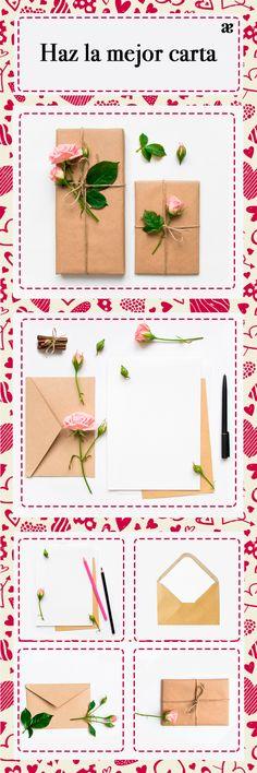 En San Valentín, tu harás la mejor carta de amor y arma tu mejor look inspirándote en el Blog Andrea.