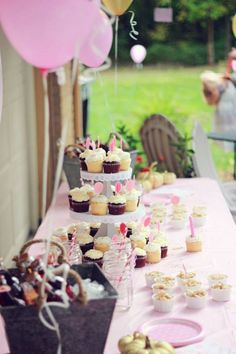 Aria's pink & gold first birthday party