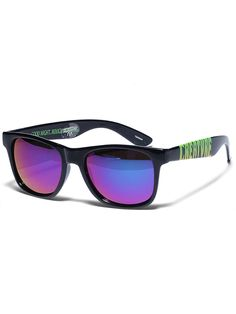 62cee3cd99  Creature  Skateboards Good Night Rough Morning  Sunglasses in  Black  9.99