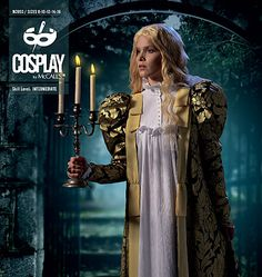 Cosplay sewing patterns and historical costume sewing patterns. Make bodysuits, corsets, capes, gowns, tunics and more for cosplay costumes. Cosplay events listing and cosplay tutorials.