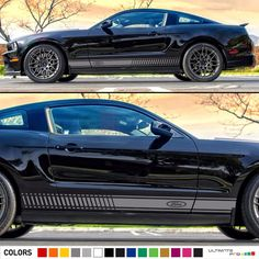 Decal Sticker Graphic Stripe Kit For Ford Mustang Gt Led Headlight Lamp Per Ultimateprocy