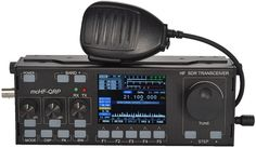 Spectrum Dynamic Waterfall Display    Multiple Working Modes: Receive Mode, Transmit Mode, TUNE Mode, VFO Mode, SPLIT Mode    DSP Digital Signal Processing Noise Reduction    Automatic Notch Filter    Humanized Interface Color Display    Receive Fine Tuning Function, Changeable MIC Gain Value    VCC Power Supply