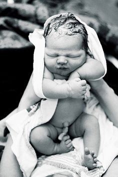 Babies first photo... I will have to take one like this