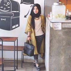 #Hijab #Fashion Inspiration by Aisyah Prihatinningrum Yusuf - Beautiful Indonesian #Hijabers