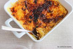 De Cozinha em Cozinha passando pela Minha: Aletria aromática queimada