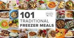 101 Traditional Freezer Meal Recipes, Facebook