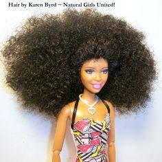 Ethnic Hair Inspired Dolls, Natural Girls United http://www.naturalgirlsunited.com