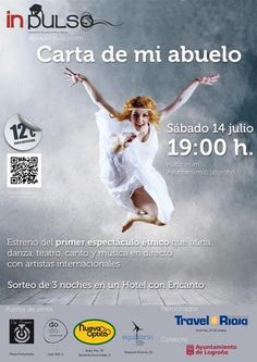 Una muy buena opción para pasar el sábado 14 #dance #arts #performance