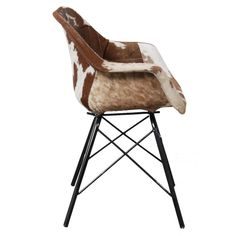 Designer Retro Industrial Leather Bucket Dining Chairs with arms Retro Dining Chairs, Dining Room Table Chairs, Industrial Dining Chairs, Leather Dining Chairs, Cool Chairs, Industrial Furniture, Dining Rooms, Kitchen Dining, Dark Brown Leather