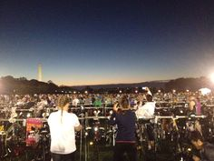 the 2012 Tri for Malawi Team's view of hte triathlon. Last year we raised $100K for girls education!