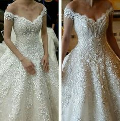 Marian Rivera royal wedding gown