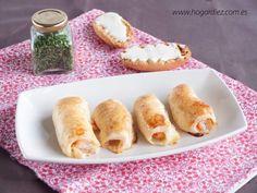 Receta Entrante : Saladitos de gambas y queso por Hogardiez