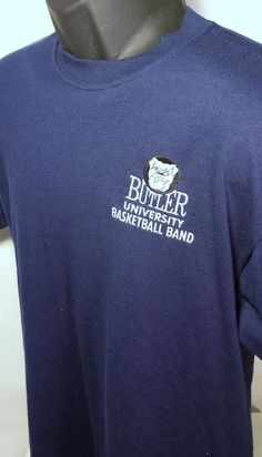#ButlerUniversity Basketball Band Mens Size Medium T Shirt #Jerzees #PersonalizedTee #ButlerUniversity