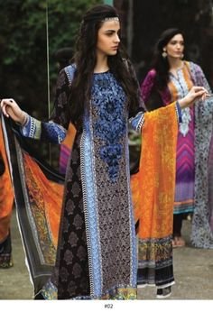 Buy Online > www.yourlibaas.com aria.B Embroidered Pashmina Winter Collection 2014 By Sahiba