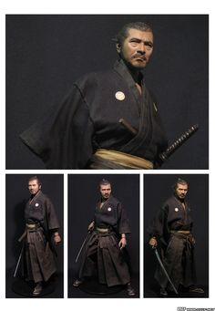 Toshiro Mifune action figure
