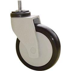 Roulette pivotante avec frein tige filet e pour collectivit s diam tre 50 - Leroy merlin roulettes ...