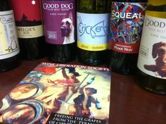 Variations of wine labels printed by the Vivo! Touch - via International Wines