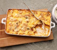 Gorgonzola ist einer der beliebtesten italienischen Käse. Er gibt diesem Gratin einen unvergleichlich rassigen Geschmack.