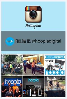 hoopla's on Instagram! Follow @hoopladigital to see what we're up to over at hoopla!