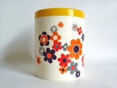 Vintage plastic container