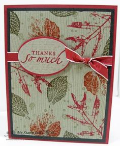 Stampin Up! French Foliage