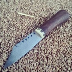 Small, viking style, work knife, 18cm long.