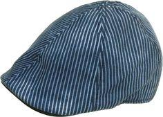 9db0bda434270 Brooklyn Hat Co Union Six Panel Ivy Cap 100% Faded Cotton Duck Bill Newsboy  Hat