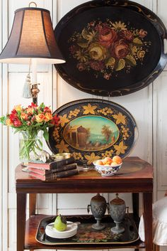 Beautiful interiors from FrenchGardenHouse Antiques.