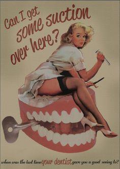 Vintage dentist