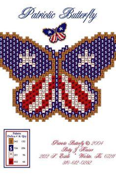 Butterfly cross stitch?