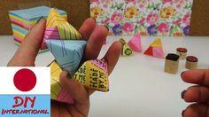立体三角形を折り紙で折ろう