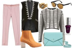 Oh Refinery 29....$1,654.74 for a casual weekend outfit?  I can't even afford the nail polish!!