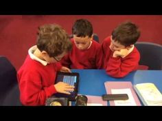 Buglawton Primary School students make a quiz on the iPad with TinyTap