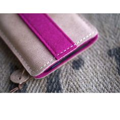 Galaxy S8, Galaxy S8+ Leather Sleeve - PRETTY IN PINK - Organic Leather