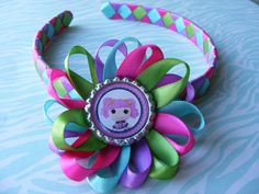 Lalaloopsy Hair Bow and Matching Braided by LivelyGirlDesigns, $9.00