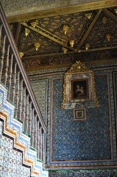 Casa de Pilatos, Seville. Beautiful World, Beautiful Places, Spanish Interior, Iberian Peninsula, Seville Spain, Spain And Portugal, 12th Century, Moorish, Tile Art