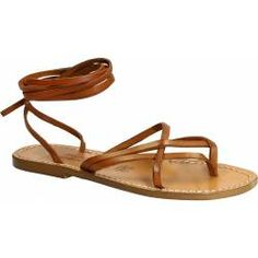 398eb9a2d Women s vintage cuir strappy leather sandals handmade in Italy